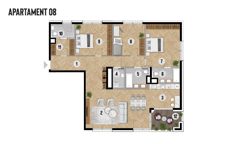 Apartament 08